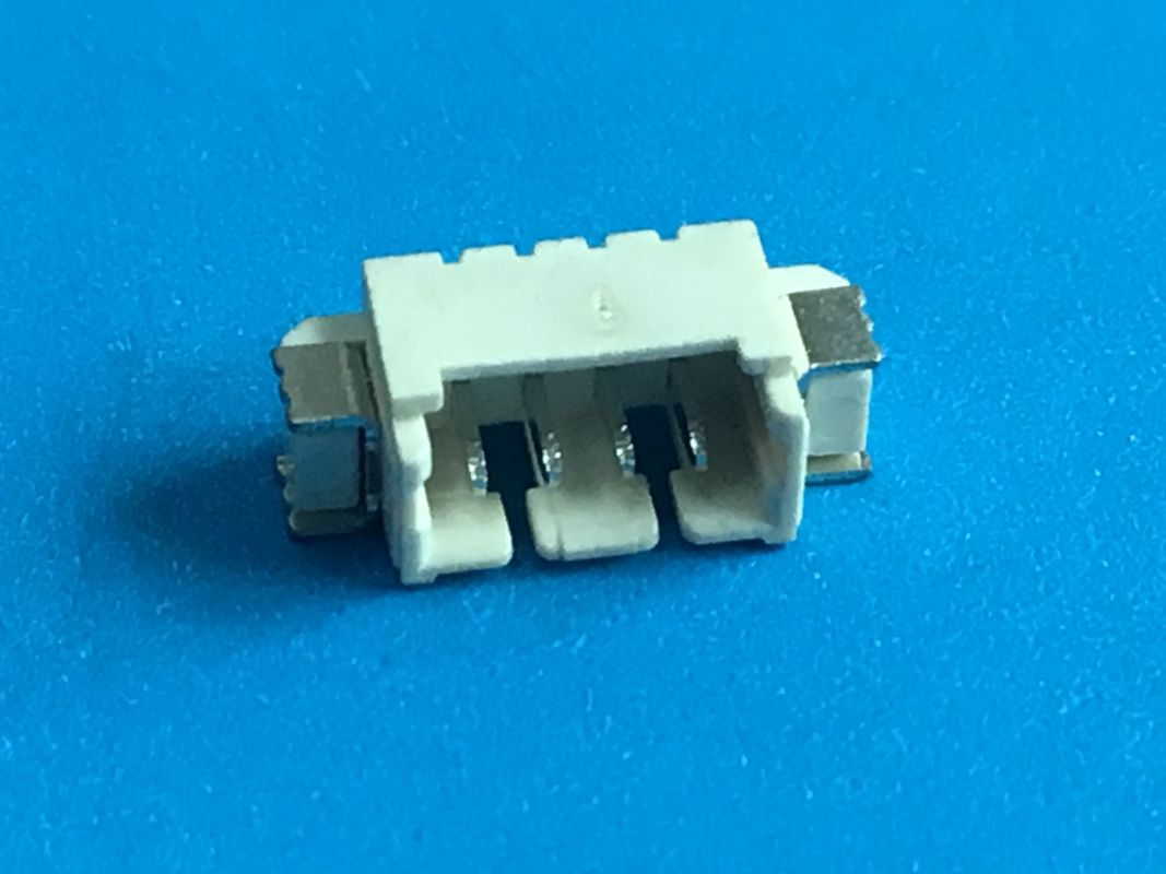 Tin Plated 1.25mm Pitch PCB SMT Header Connector PA66 Housing Brass 2 Pin Connector