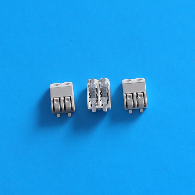 Wago 4.0mm Equivalent 2 Pin LED Connector for LED / PCB Boards  -40°C - +85°C Work Temp,reel &tape packaging