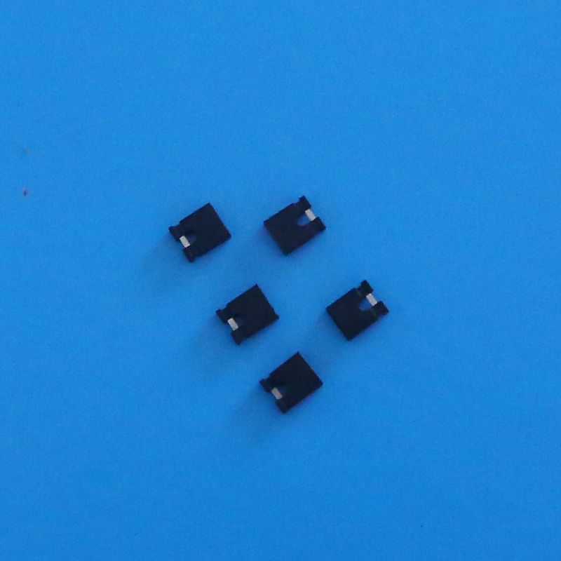 #28 - 32 Wire 2 Poles Mini Female Jumper Connector with PA66 UL94V-0 Housing