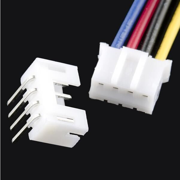 2.0 mm Wire Harness Cable Assembly For 4 Pin Housing Connector / Right Angle Header Connector