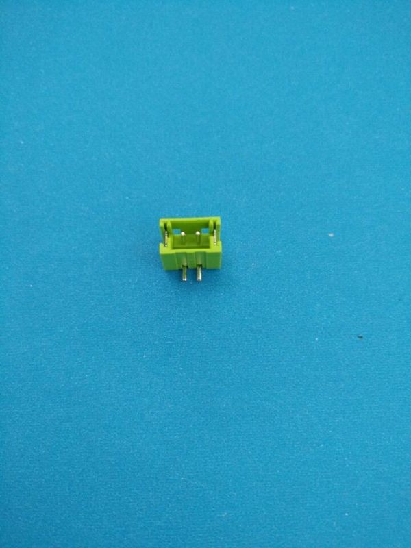 Green 2 Poles ZH 1.5mm Pitch Pcb Header Connectors PA4T Material Header Connector