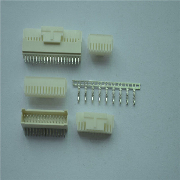 2.0mm PHB Series Female Housing Pcb Wire To Board Connector Dual Row With Lock
