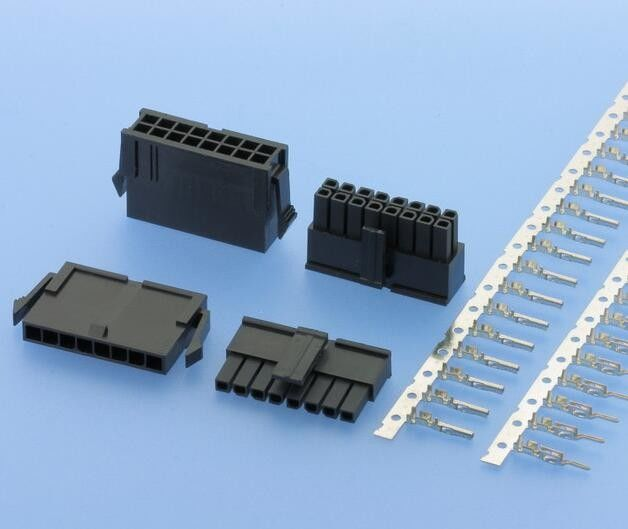 2 - 30 Pins PCB Connectors Wire To Board Type Friction Lock Housings & Crimp Terminals