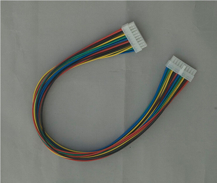 AWG 18 - 22  Wire Harness Cable Assembly Red / Yellow / Blue / Green / Black