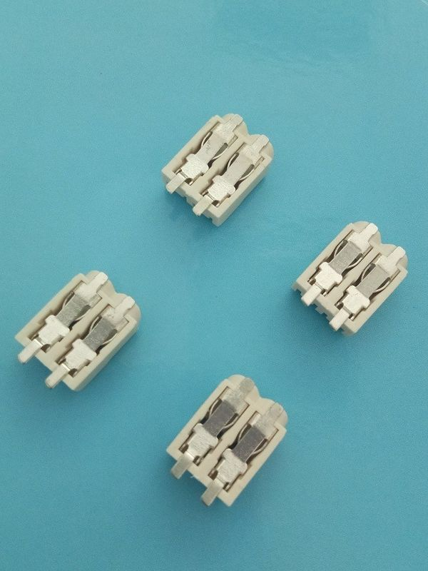 4 mm Pitch SMD LED Crimp Connector 2 Poles Tin - Plated Terminal Block Connectors