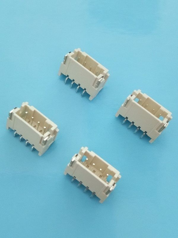 2A AC/DC 4 Contacts SMD Right Angle Header Connector Wire To Board LCP Material