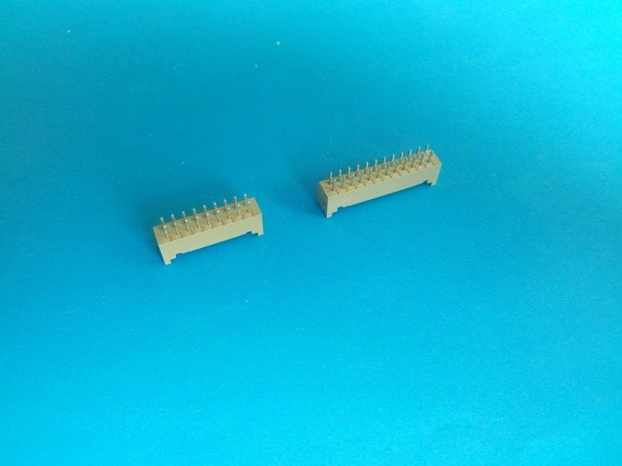 Double Row PCB Connectors Wire To Board  / Board To Board 2*2-2*25 Pin