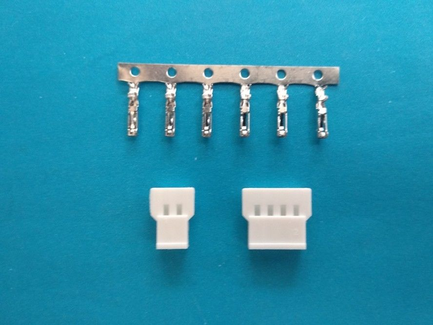 2.0mm Pitch , 2-16 Pin , PCB Connectors Wire to Board , Dip Type Tin-plated Connector