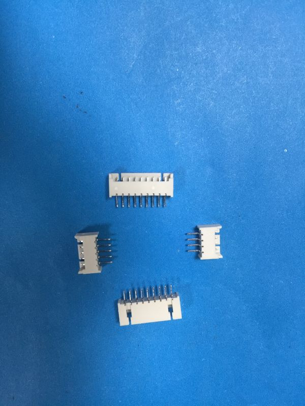 DIP Type Straight Angle PCB Board Connector 1.25mm Pitch In White Color